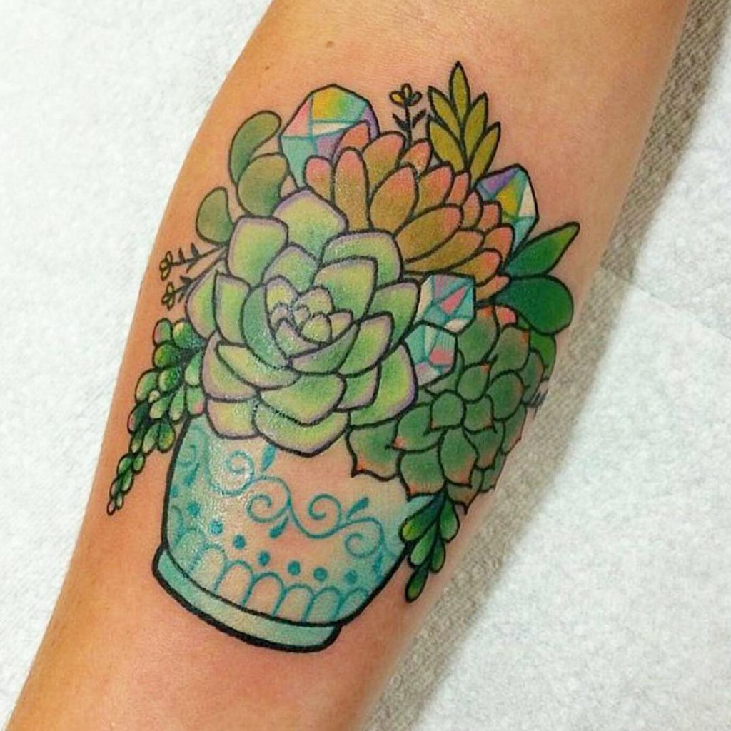 Top 15 Succulent Tattoos Littered With Garbage